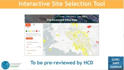 Interactive Site Selection Tool