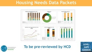 Housing Needs Data Packets