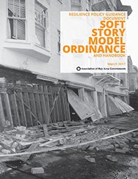 Soft Story Model Ordinance and Handbook Cover