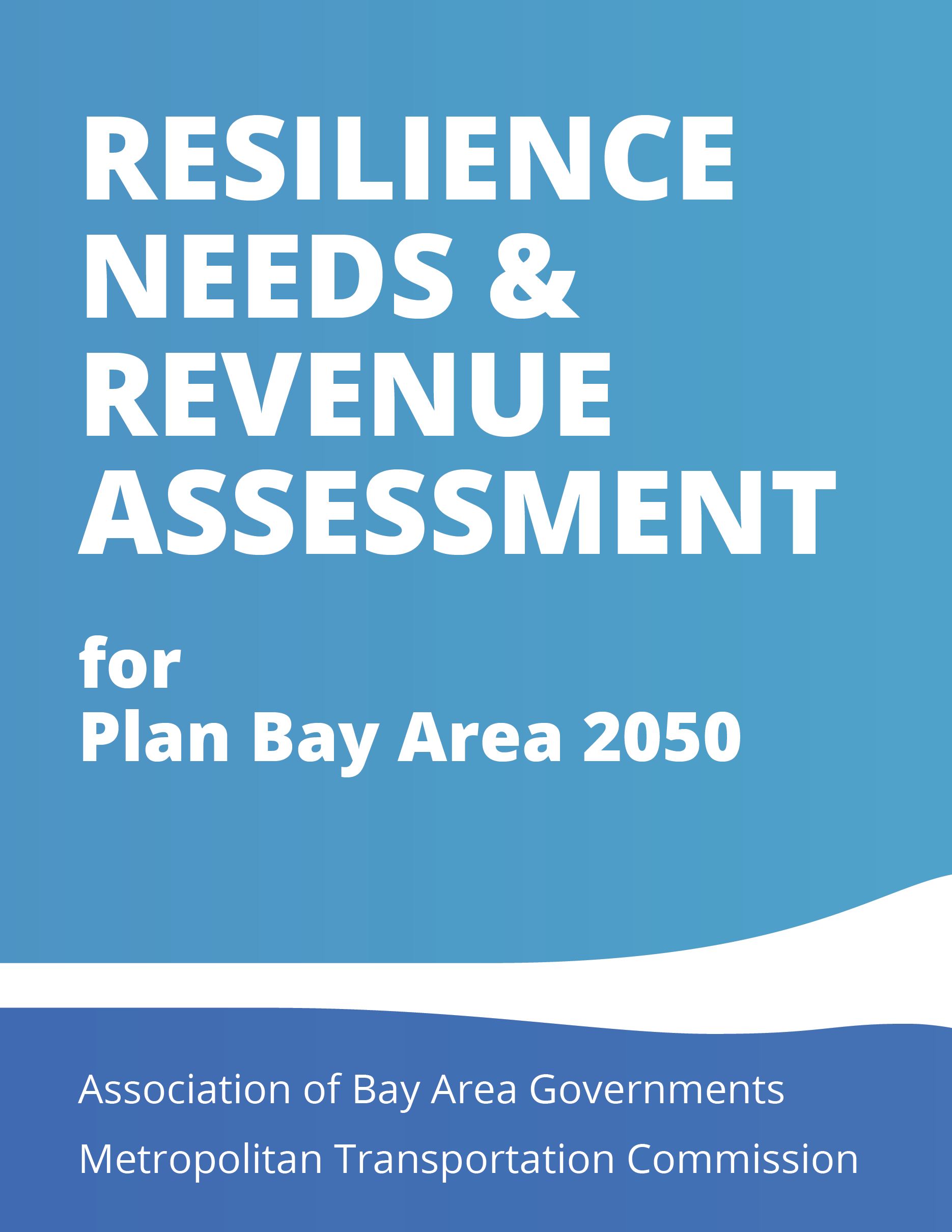 Resilience Needs & Revenue Assessment Cover