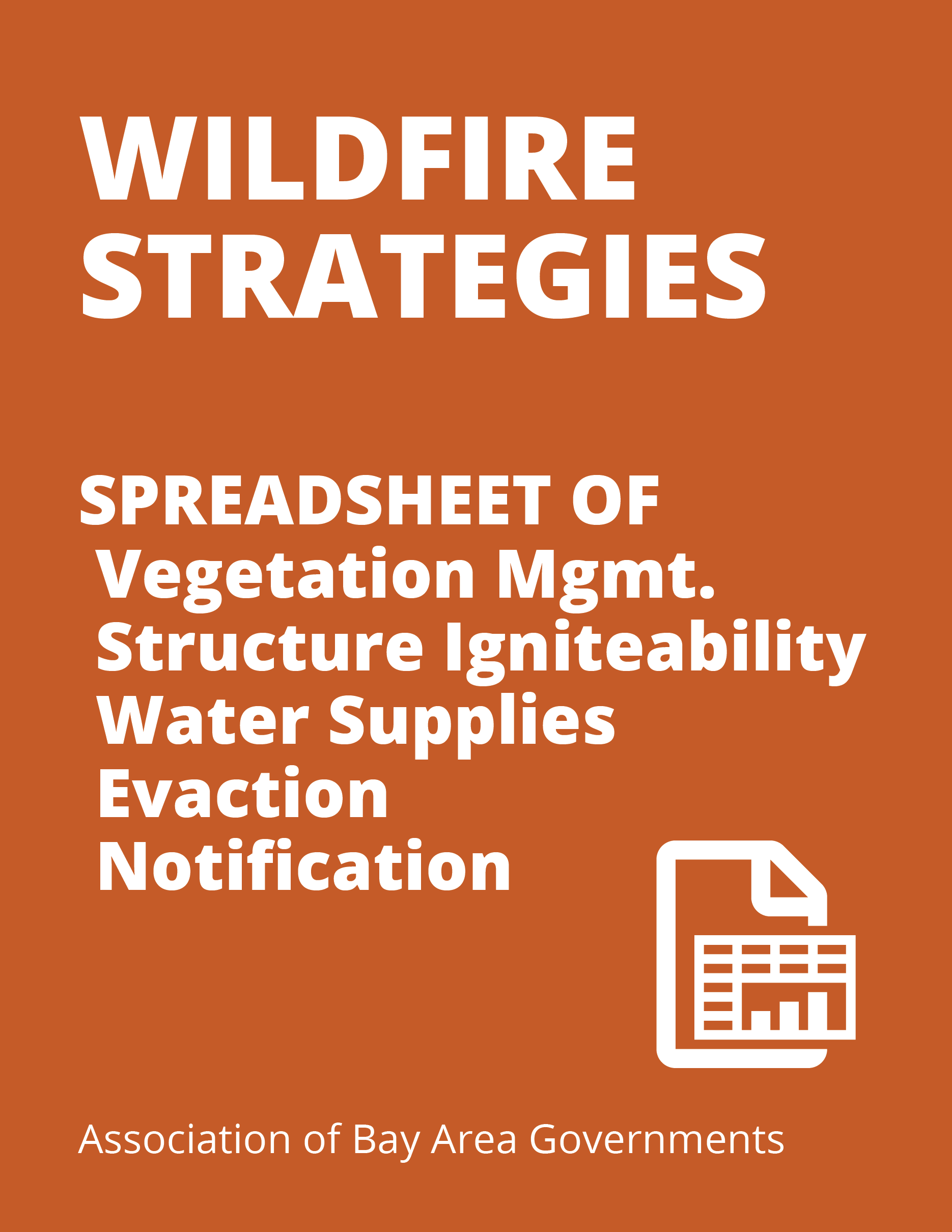 Wildfires Strategy Spreadsheet