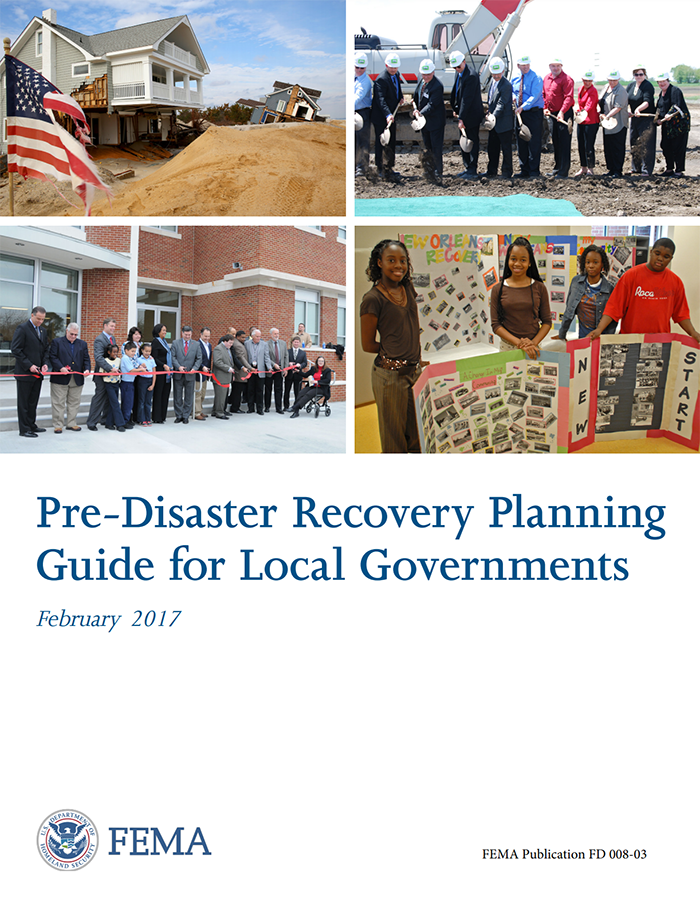 Pre-Disaster Recovery Planning Guide for Local Governments