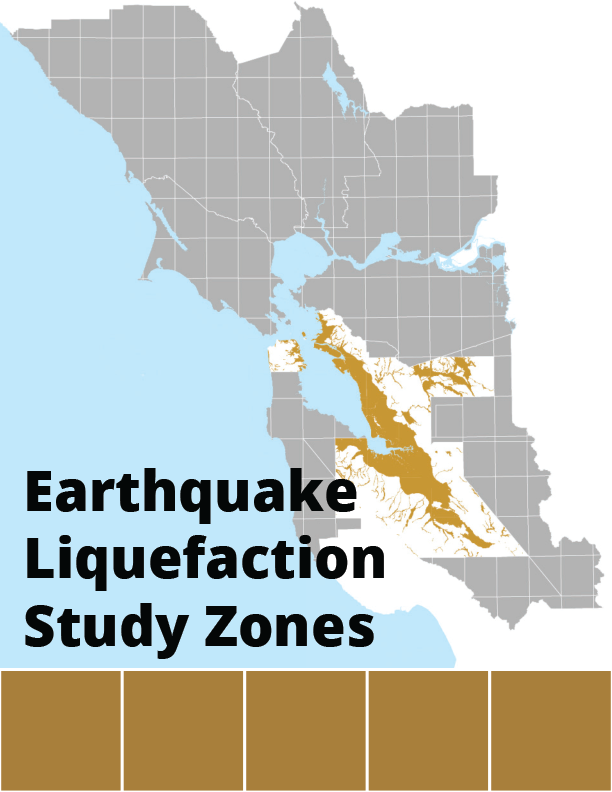 Earthquake Liquefaction Study Zones