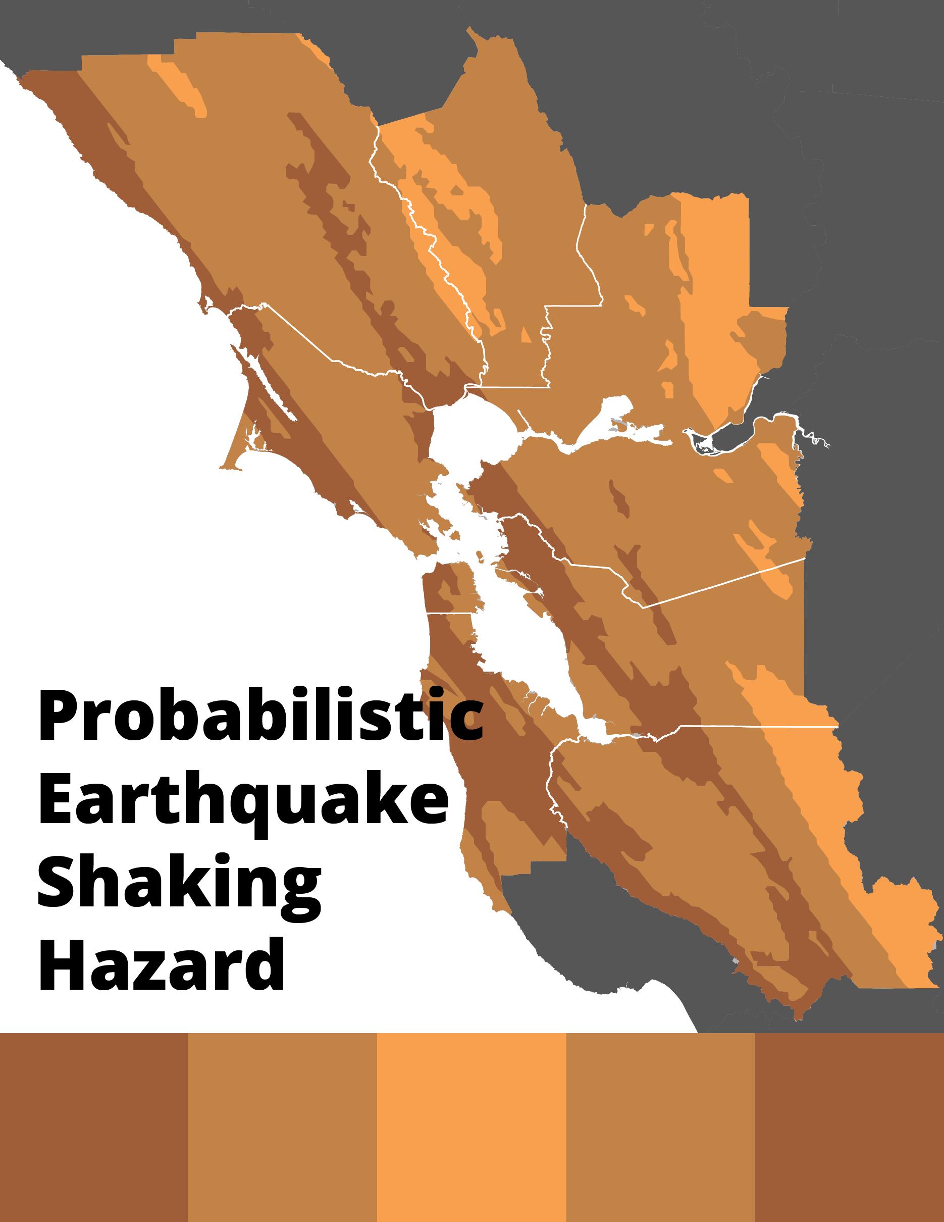 Probabilistic Earthquake Shaking Hazard Map