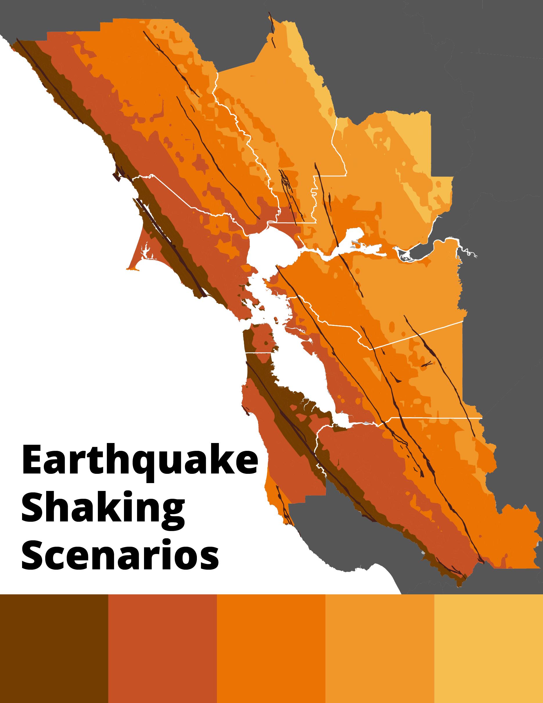 Earthquake Shaking scenarios map