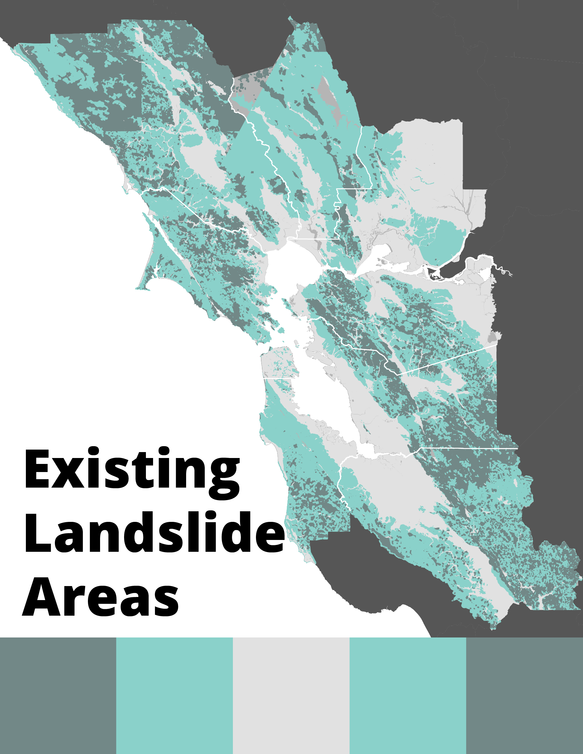 Existing Landslide Areas Cover