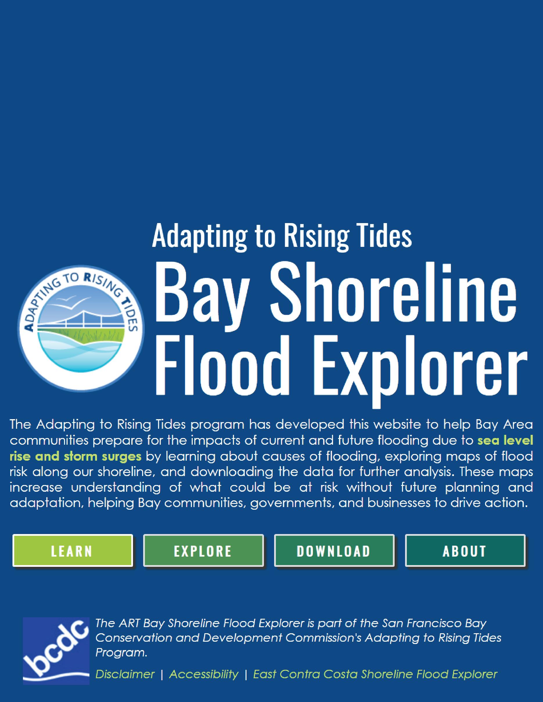ART Bay Shoreline Flood Explorer