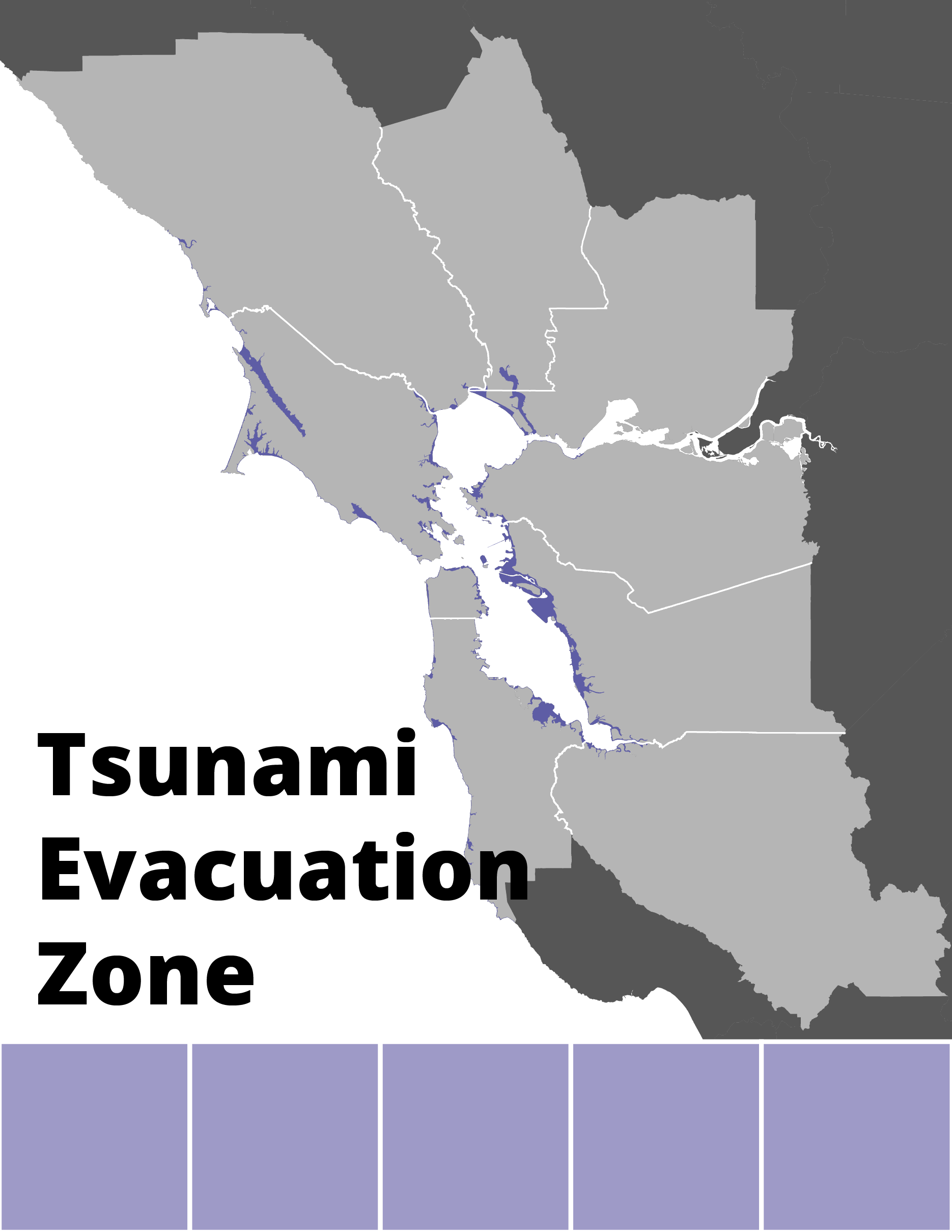 Tsunami Inundation Map for Coastal Evacuation