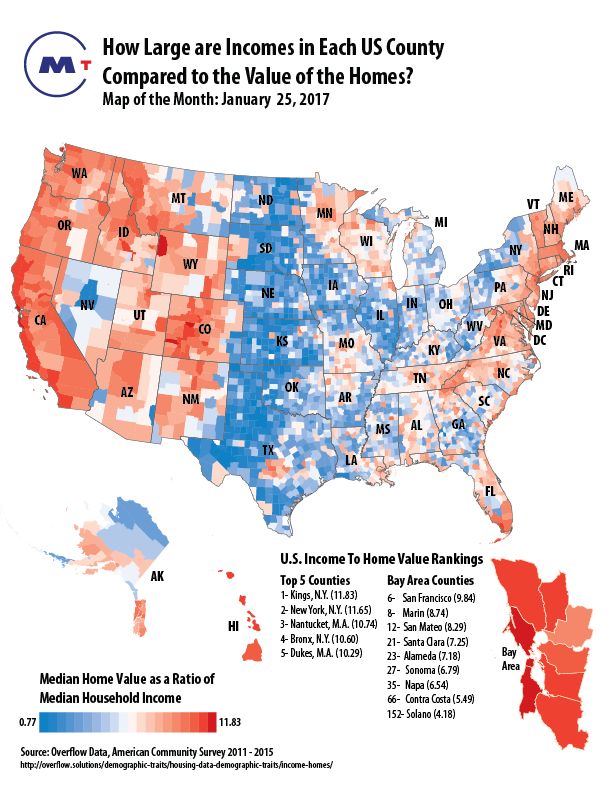 Map Of The Month Association Of Bay Area Governments - Income-map-of-us