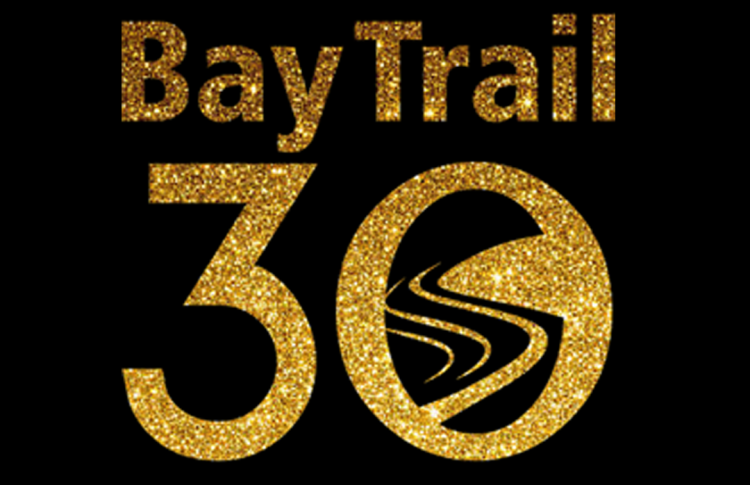 Bay Trail 30th Anniversary Logo