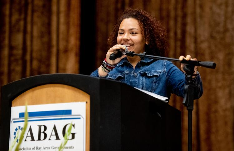 Oakland's poet laurate opens the ABAG General Assembly