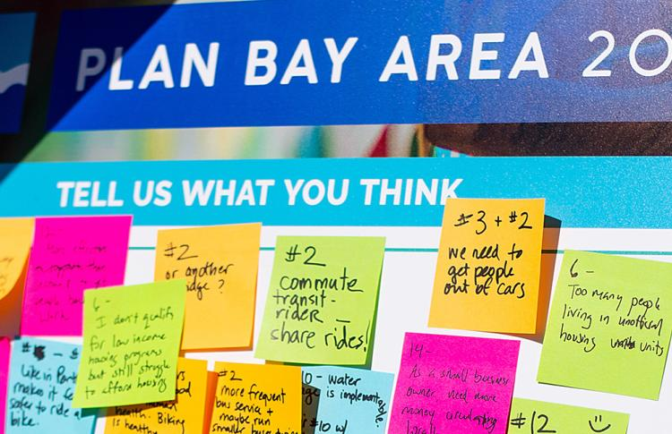 Plan Bay Area 2050 public engagement
