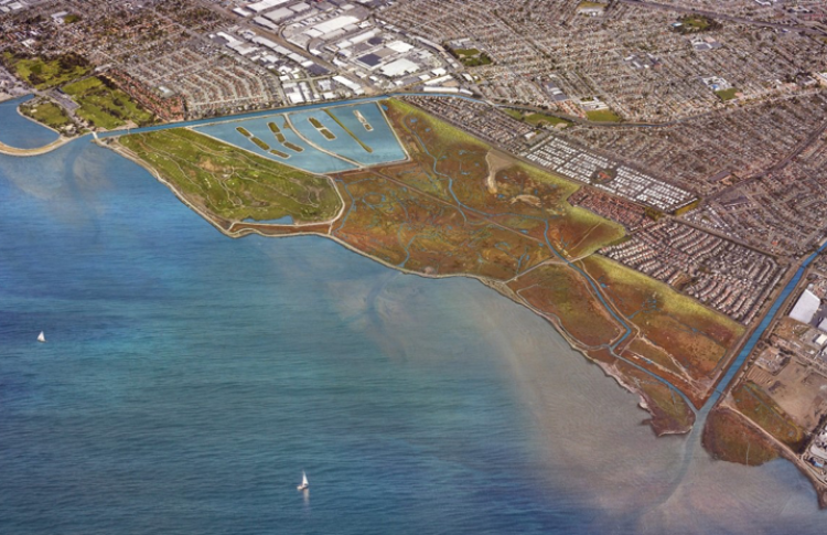 visualization of the East Bay Dischargers Authority 'First Mile' project